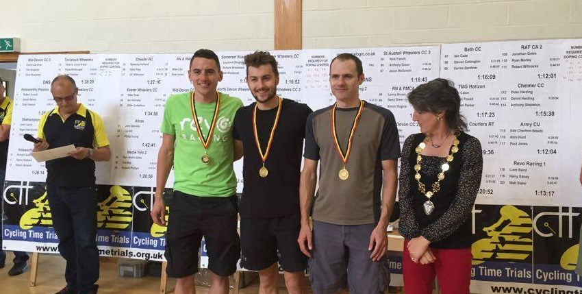 Success at the National TTT Championships